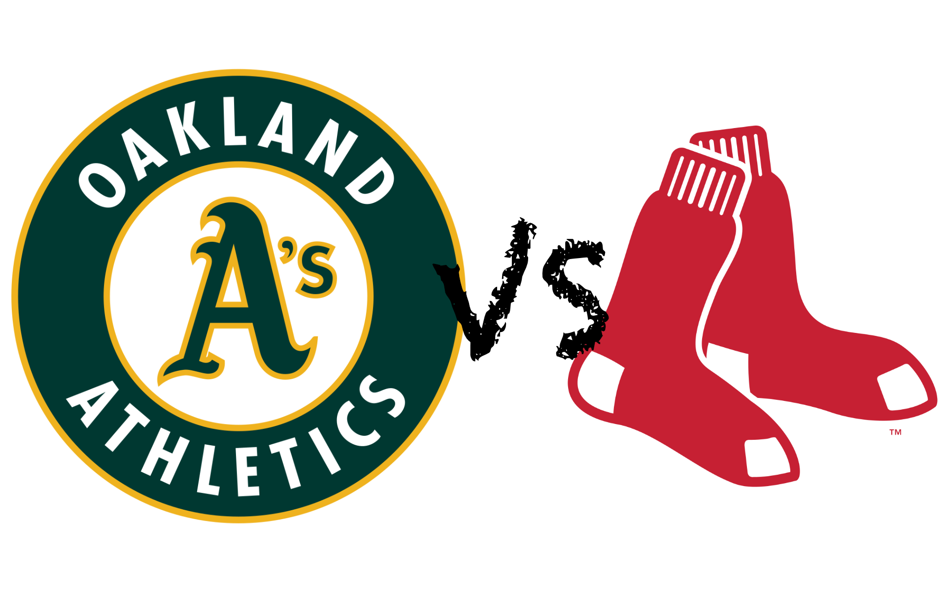 A's VS Red Sox